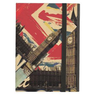 Vintage Visit London poster iPad Folio Case