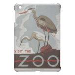 Vintage Visit the Zoo iPad Mini Covers