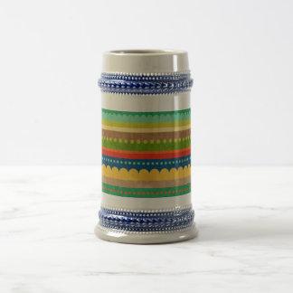 Vintage vivo jarra de cerveza