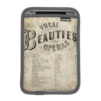 Vintage Vocal Operas Durable iPad Mini Sleeve