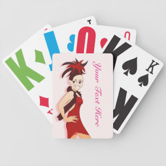 Vintage Vogue Steph Playing Cards