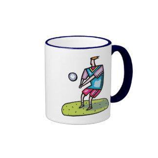 Vintage Volleyball Gift Coffee Mug