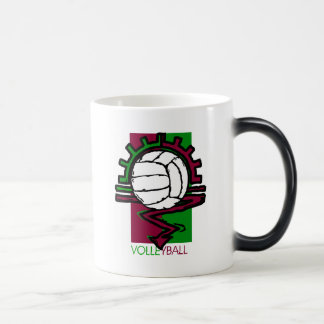 Vintage Volleyball T-Shirt Magic Mug
