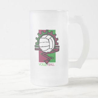 Vintage Volleyball T-Shirt Coffee Mug