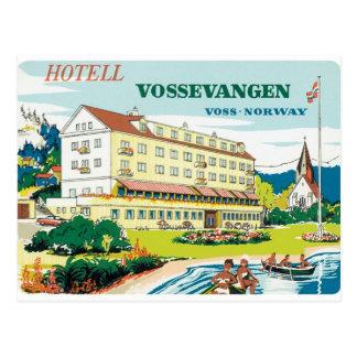 Vintage Voss Noruega Tarjetas Postales