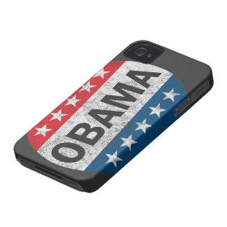 Vintage Vote Obama 2012 Button iPhone 4 Case