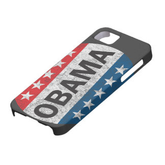 Vintage Vote Obama 2012 Button iPhone 5 Case