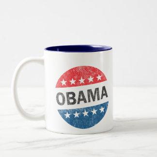 Vintage Vote Obama 2012 Coffee Mug