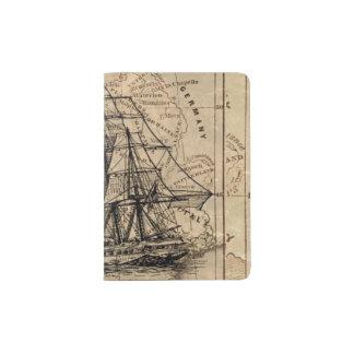 Vintage Voyage Passport Holder