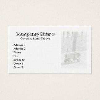 Vintage Wagon Business Card