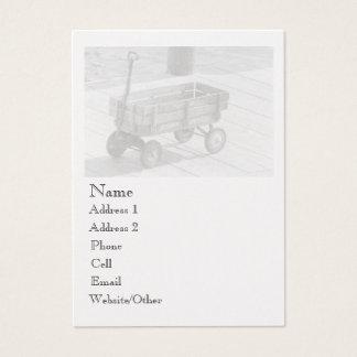 Vintage Wagon Large Profile Business Card
