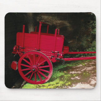 Vintage wagon mouse pad