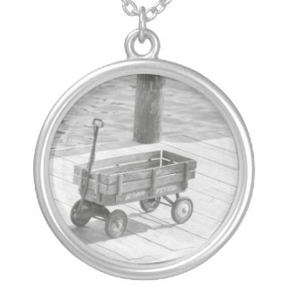 Vintage Wagon Necklace