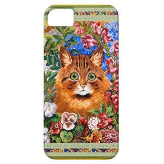 Vintage Wain Floral Cat Art Case iPhone 5 Case