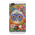 Vintage Wain Funky Flower iPhone Case Cover For iPhone 4