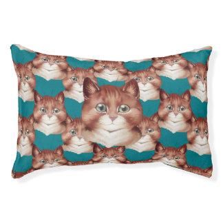 Vintage Wain Ginger Kitten Cats Art Pet Bed