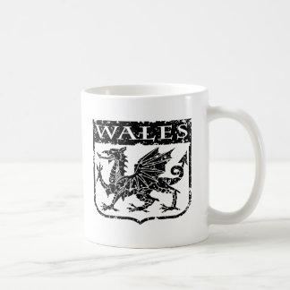 Vintage Wales Coffee Mug