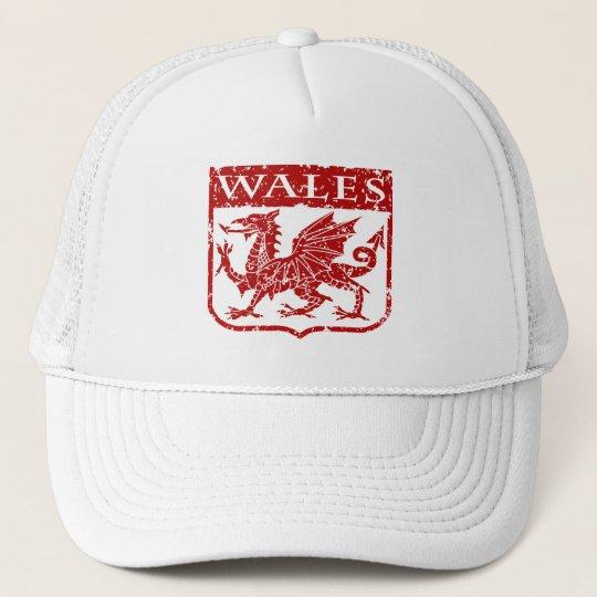 Vintage Wales Trucker Hat