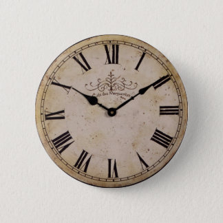 Vintage Wall Clock Button