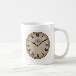 Vintage Wall Clock Coffee Mug