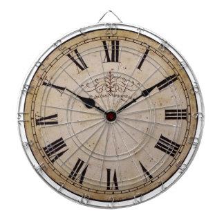 Vintage Wall Clock Dart Boards