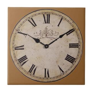 Vintage Wall Clock Tiles