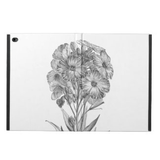 Vintage Wall flower etching case