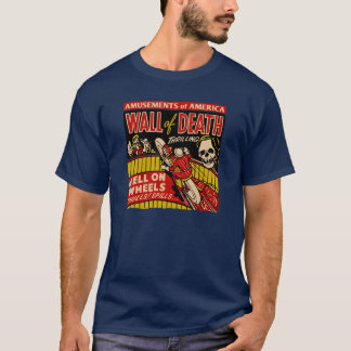 "Vintage ""Wall Of Death"" Motorcycle Stunts T-Shirt"