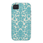 Vintage Wall Paper Vibe iPhone 4 Case