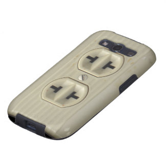 Vintage Wall Socket Samsung Galaxy S Case Galaxy SIII Covers