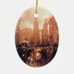 Vintage Wall Street, Half Past Two Christmas Tree Ornament