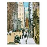 Vintage Wall Street que parece del oeste, New York Postal
