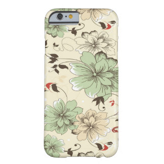 Vintage Wallpaper Barely There iPhone 6 Case