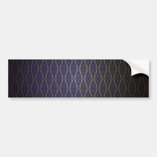 Vintage Wallpaper Bumper Sticker