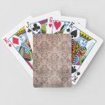 Vintage wallpaper card deck
