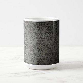 Vintage wallpaper coffee mug