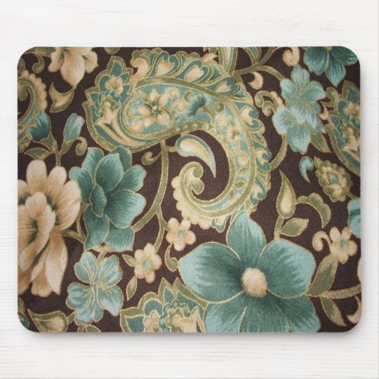 Vintage Wallpaper Floral Mousepad