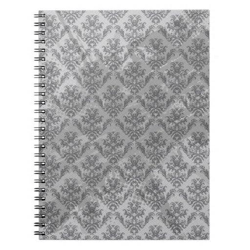 Vintage Wallpaper Grunge Texture Notebook