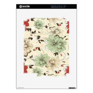 Vintage Wallpaper iPad 2 Decals
