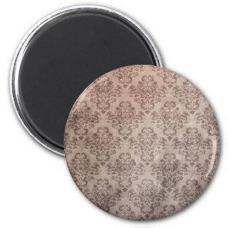 Vintage wallpaper 2 inch round magnet
