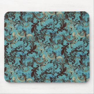 Vintage Wallpaper Mouse Pad