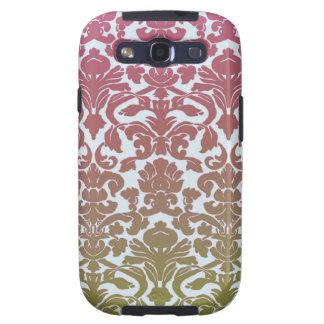 Vintage Wallpaper Pink Galaxy S3 Case