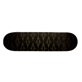 Vintage Wallpaper Skate Board Deck