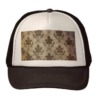 Vintage wallpaper trucker hat