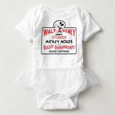 Disney Themed Vintage Walt Disney Studios Baby Bodysuit