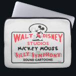 """Vintage Walt Disney Studios Computer Sleeve<br><div class=""""desc"""">Are you a die hard Mickey Mouse fan? Then you&#39;ve come to the right place! This vintage design features Walt Disney Studios Mickey Mouse  Silly Symphony.</div>"""