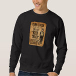 Vintage Wanted / Reward Poster for Billy the Kid Pullover Sweatshirts