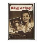 Vintage War Advertisement Postcards