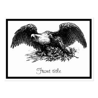 Vintage War Eagle Business Cards