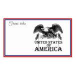 Vintage War Eagle Business Card Templates